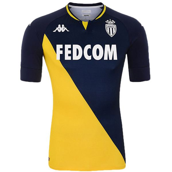 AS monaco away jersey maillot match exterieur men's second soccer sportwear football shirt 2020-2021