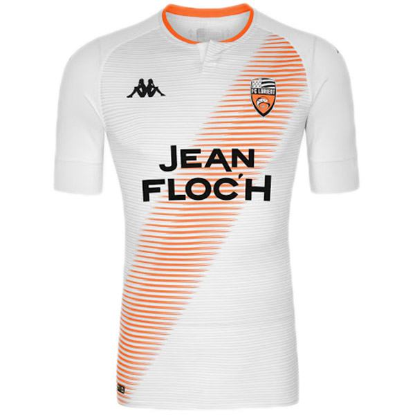 Lorient away soccer jersey maillot match men's second sportwear football shirt 2020-2021