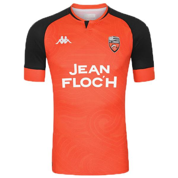 Lorient home soccer jersey maillot match men's 1st sportwear football shirt 2020-2021