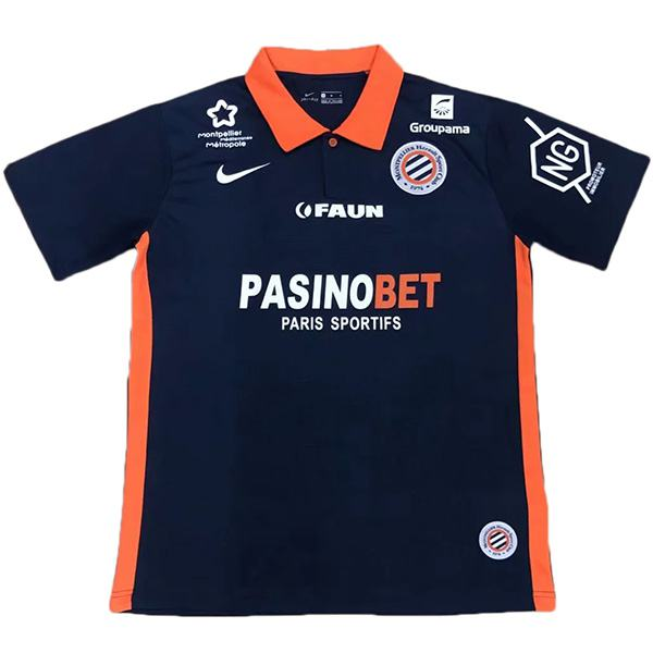 Montpellier Home soccer jersey match men's sportswear football shirt 2020-2021