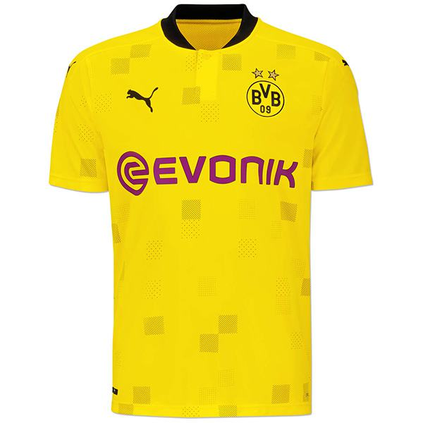 Borussia dortmun home champions league jersey maillot match men's sportwear football shirt 2020-2021