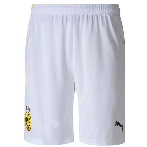 Borussia Dortmund away football shorts soccer maillot match men's 2ed soccer short pants 2020-2021