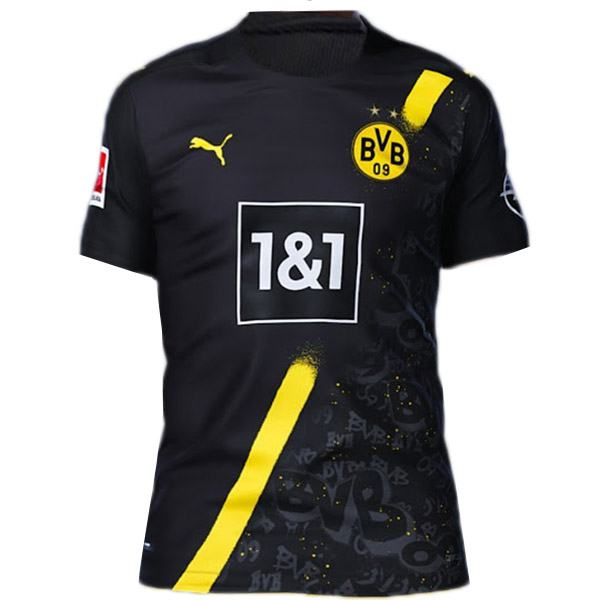 Borussia Dortmund away jersey BVB maillot match men's 2ed sportwear football shirt 2020-2021