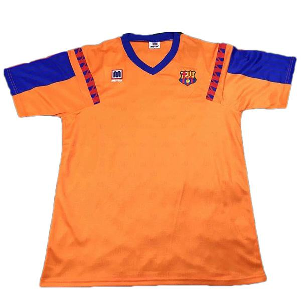 Barcelona away retro jersey maillot match men's 2ed soccer ...