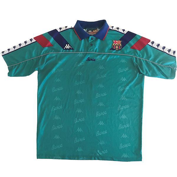 Barcelona away retro soccer jersey maillot match men's second sportwear football shirt 1992-1995