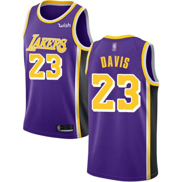 Los Angeles Lakers Anthony Davis Authentic Jersey 23 Statement ...
