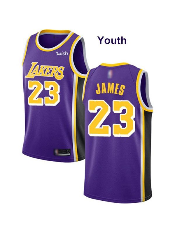 Youth los angeles lakers 23 lebron james children edition nba kids ...