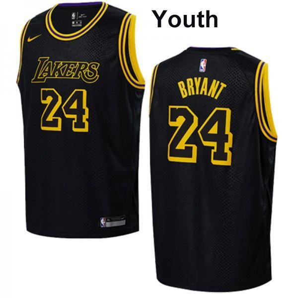 Youth los angeles lakers 24 kids Kobe Bryant children basketball ...