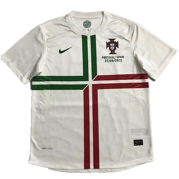 Portugal away retro jersey sportwear men's 2ed soccer shirt football sport t-shirt 2012