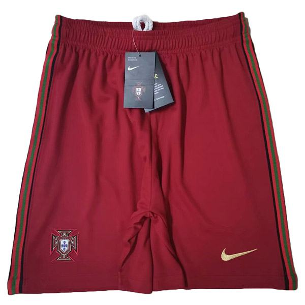 Portugal Home 2020 Euro Shorts Maillot Match Men's Soccer Sportwear Football Pants