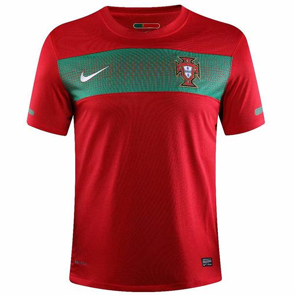 Portugal home retro jersey maillot match men's 1st sportwear football shirt 2010 world cuo