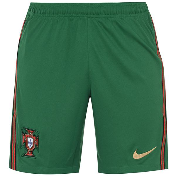 Portugal Home Shorts Maillot Match Men's Soccer Sportwear Football Green Pants 2020 Euro