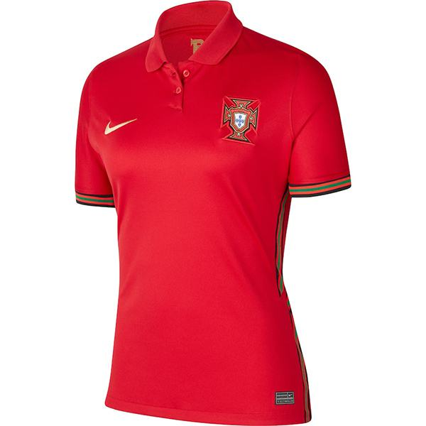 Portugal home women jersey maillot match ladies first soccer sportwear football shirt 2020-2021