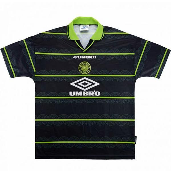 Celtic away retro jersey maillot match men's 2ed soccer sportwear football shirt 1998