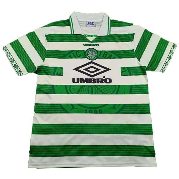 Celtic Home Retro Jersey Men's 1st Soccer Sportwear Football Shirt 1997-1999