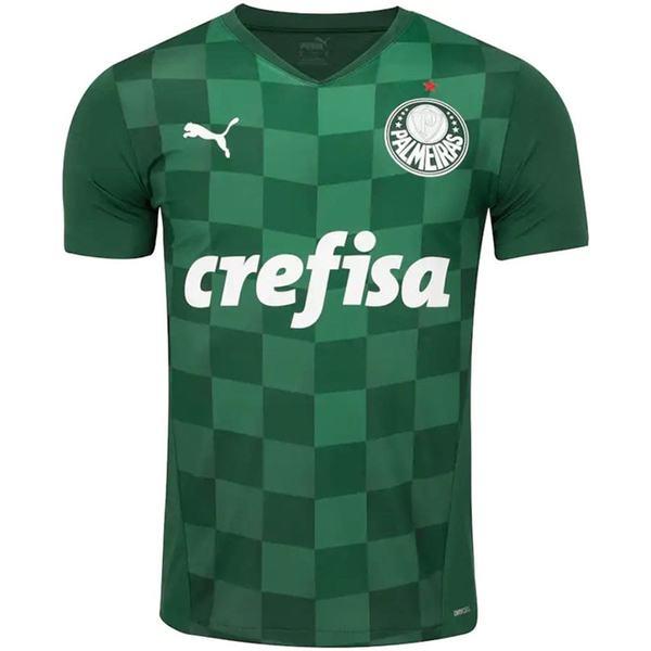 Palmeiras home jersey match men's first soccer sportswear football shirt 2021-2022