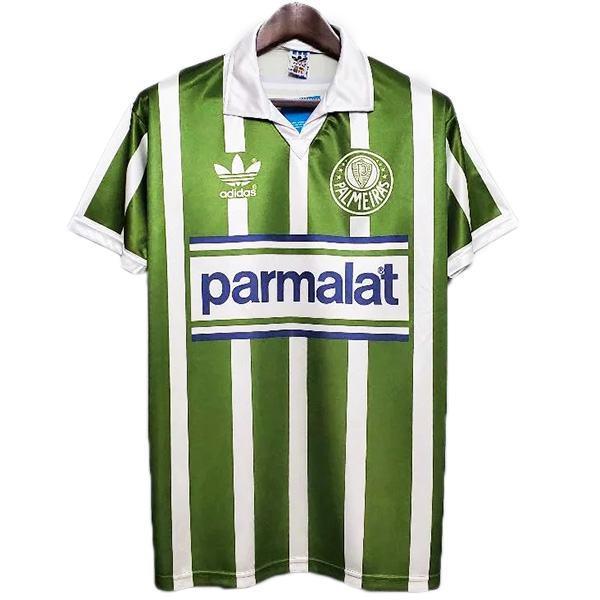 Palmeiras home retro soccer jersey sportswear men's soccer shirt football sport t-shirt 1992