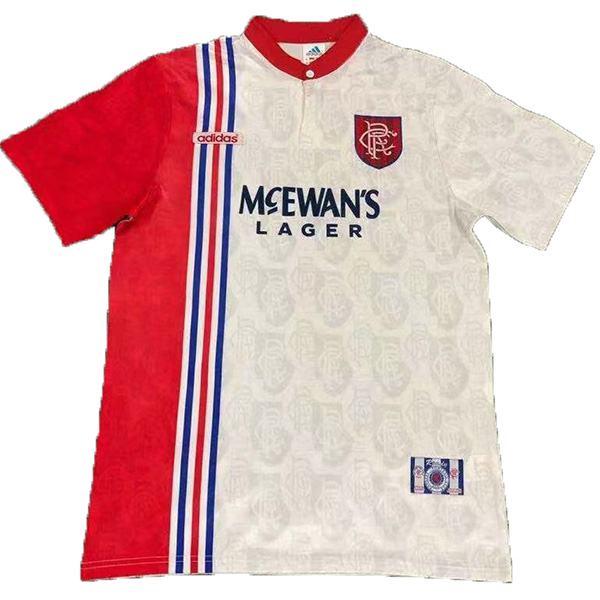 Rangers away retro soccer jersey maillot match men's second sportwear football shirt 1996-1997