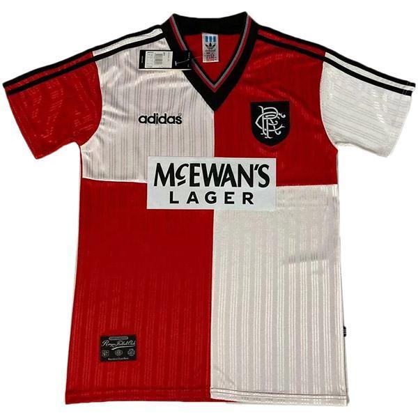 Rangers retro soccer jersey maillot match men's sportwear football shirt 1995-1996