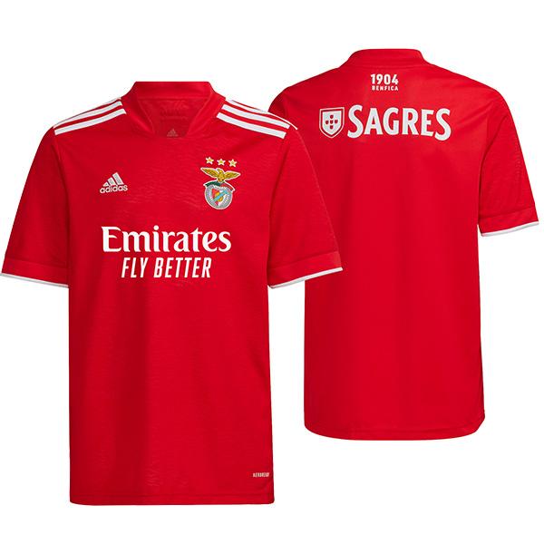Benfica home jersey first soccer kits men's sportswear football tops sport shirt 2021-2022