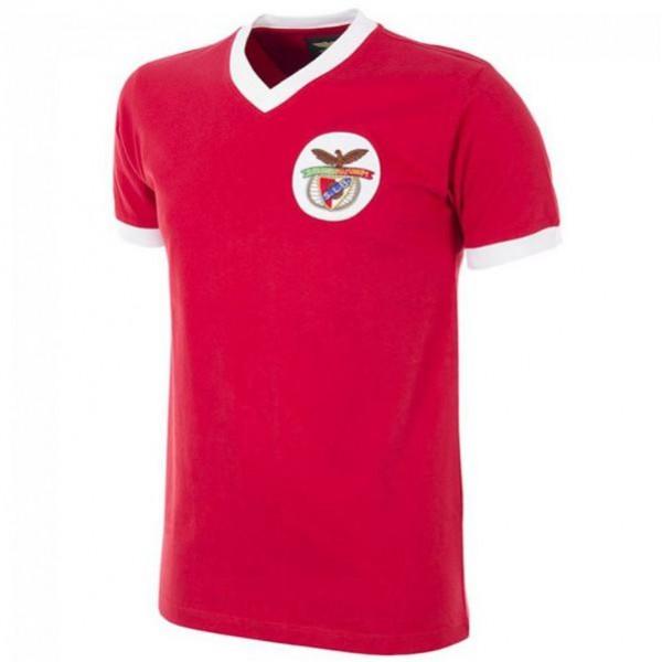Benfica home retro jersey men's first sportswear football tops sport shirt 1974-1975