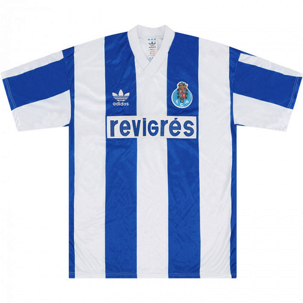 FC Porto home retro vintage soccer jersey match men's first sportswear football shirt 1990-1992