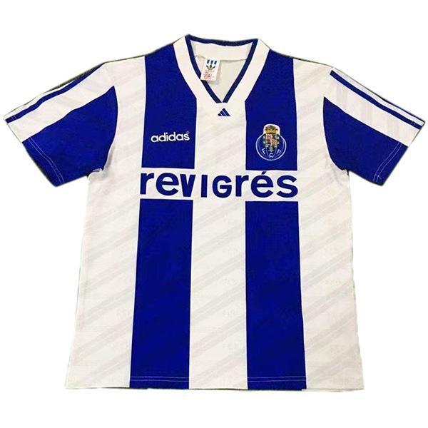 FC Porto home retro vintage soccer jersey match men's first sportswear football shirt white 1994-1995