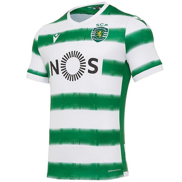 Sporting lisbon home soccer jersey maillot match men's 1st sportwear football shirt 2020-2021