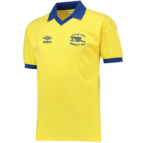 Arsenal away retro jersey vintage soccer match men's second sportswear football shirt 1971-1979