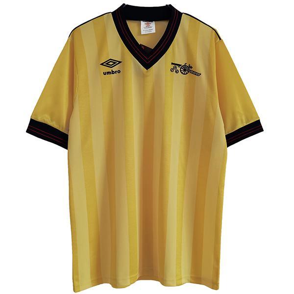 Arsenal away retro soccer jersey maillot match second men's second sportswear football shirt 1983-1986