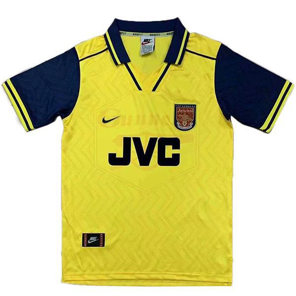 Arsenal away retro soccer jersey maillot match second men's second sportswear football shirt 1996