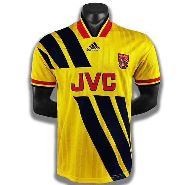 Arsenal away retro soccer jersey maillot match second men's sportwear football shirt 1993-1994