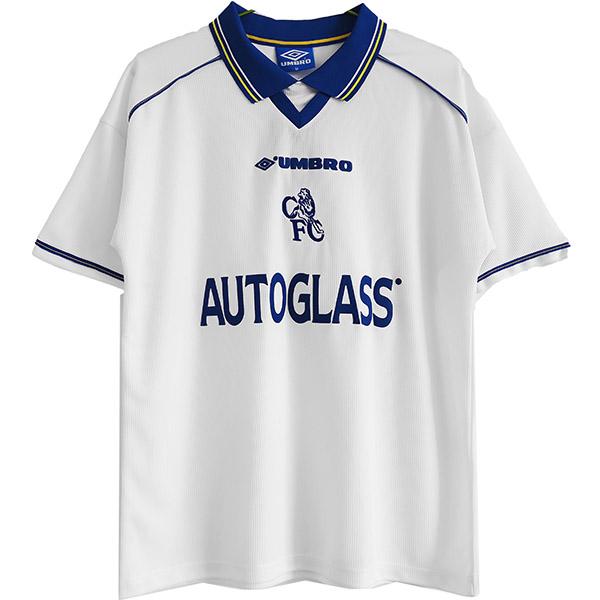 Chelsea away retro jersey men's second sportswear football tops sport soccer shirt 1998-2000