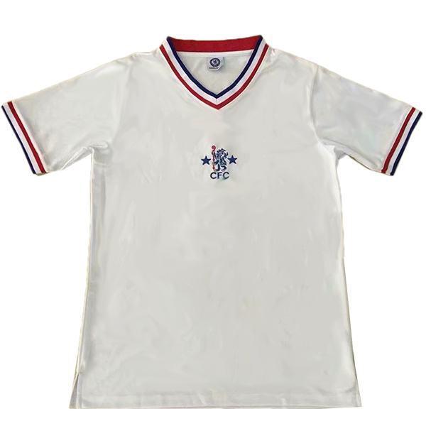 Chelsea away retro soccer jersey maillot match men's second soccer sportswear football shirt 1982-1983