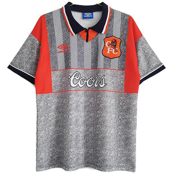 Chelsea away vintage retro soccer jersey maillot match men's second sportswear football shirt 1994-1996