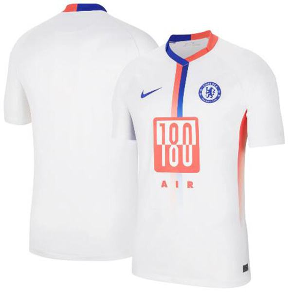 Chelsea fourth soccer jersey maillot match men's 4th sportswear football shirt white 2021