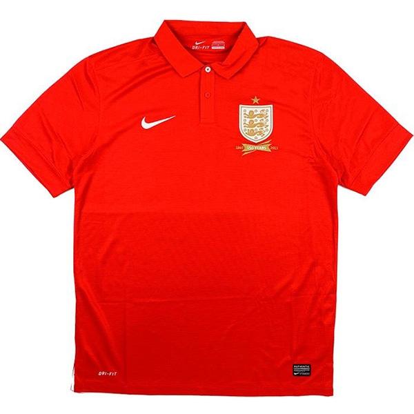 England away 150th anniversary jersey soccer match men's second sportswear football tops sport shirt 2013