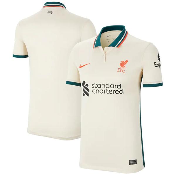 Liverpool away jersey soccer vintage match men's second sportswear football shirt 2021-2022