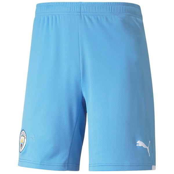 Manchester city home football shorts soccer maillot match men's first soccer short pants 2021-2022