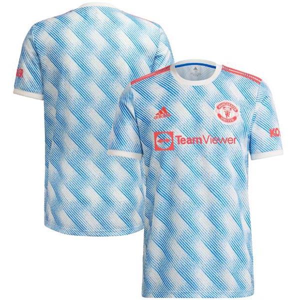 Manchester united away jersey match men's second soccer sportswear football shirt 2021-2022