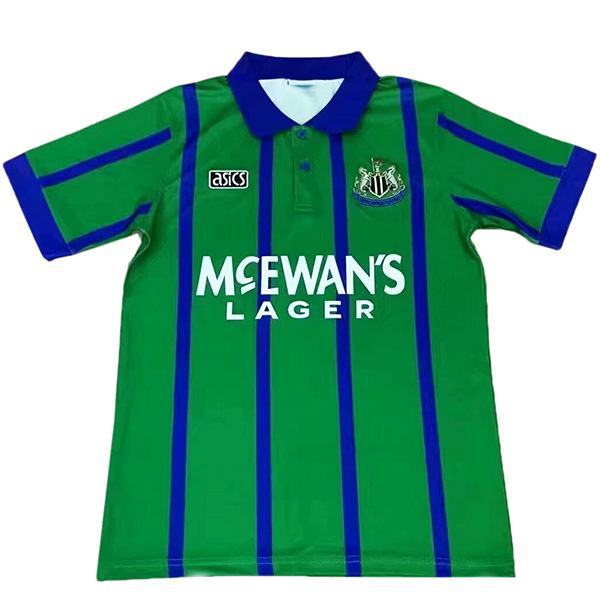 Newcastle United away retro vintage soccer jersey match men's second sportswear football 1995-1996