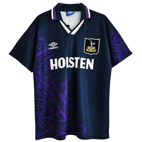 Tottenham Hotspur away retro soccer jersey maillot match men's second sportswear football shirt 1994-1995