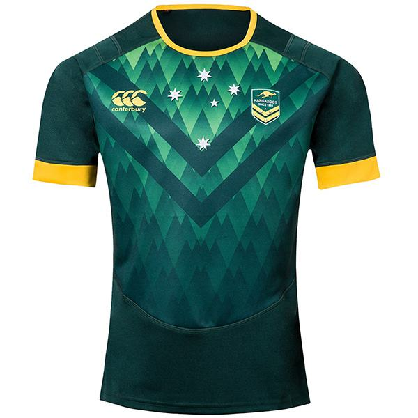 Australia rugby national team jersey green 2019/2020