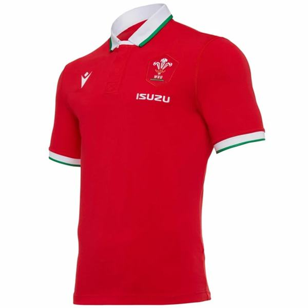 Wales super rugby jersey Men's Gameday RWC replica shirt red 2021