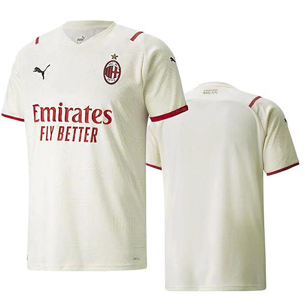 AC milan away jersey soccer match men's second sportswear football tops sport shirt 2021-2022