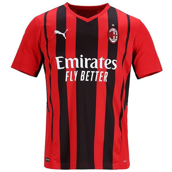 AC Milan home jersey match men's first soccer sportswear football shirt 2021-2022
