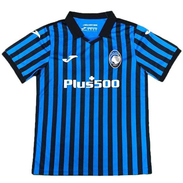 Atalanta home champion version soccer jersey maillots domicile match men's 1st soccer sportwear football shirt 2020-2021