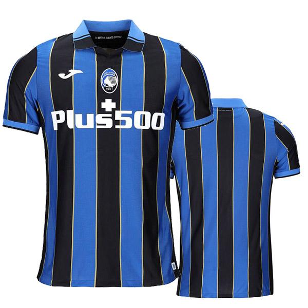 Atalanta home jersey soccer match men's first sportswear football tops sport shirt 2021-2022