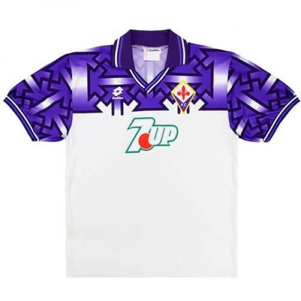 Fiorentina away retro soccer jersey maillot match men's 2ed sportwear football shirt 1992-1993