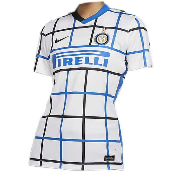Inter milan away women jersey maillot match ladies second soccer sportwear football shirt 2020-2021